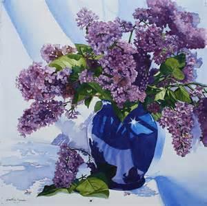 flieder in vase lilacs in vase by tina sander