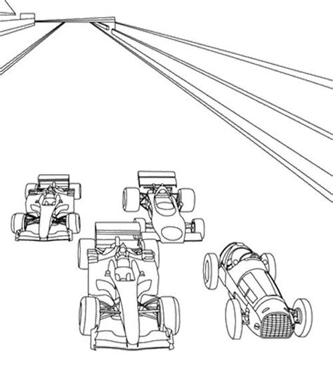 Free A Race Track Coloring Pages Track Coloring Page