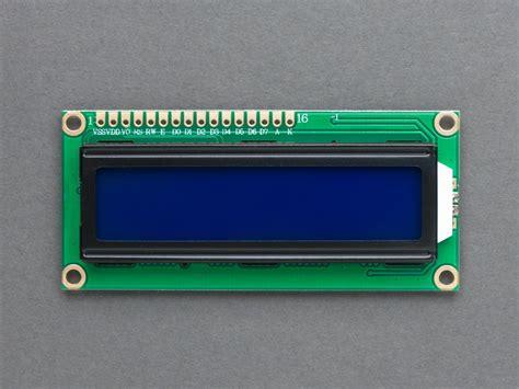 Lcd 16x2 standard lcd 16x2 display in india thingbits electronics