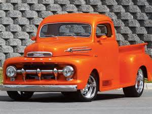 1952 ford pickup custom truck driver side front view photo 1