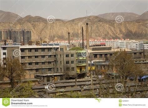 wohnungen allermöhe chinesische fabrik wohnungen gansu china stockbild bild