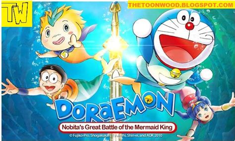 doraemon movie hindi download doraemon movie nobita s great battle of the mermaid king