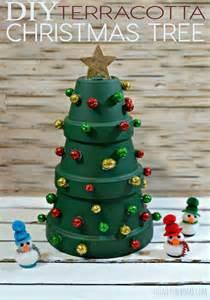 diy terracotta christmas tree totally the bomb com
