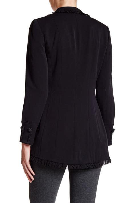 Jaket Fleece Sweater Insight Navy insight style jacket in black lyst