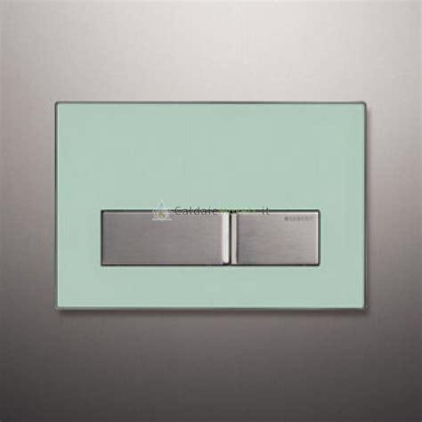 placca cassetta geberit placca di comando geberit sigma 50 vetro verde satinato