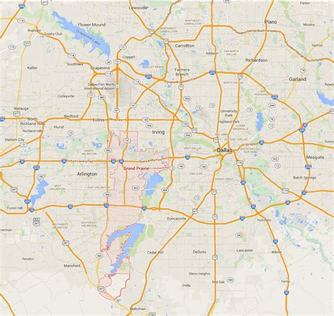where is grand prairie texas on the texas map grand prairie tx pictures posters news and on your pursuit hobbies interests and