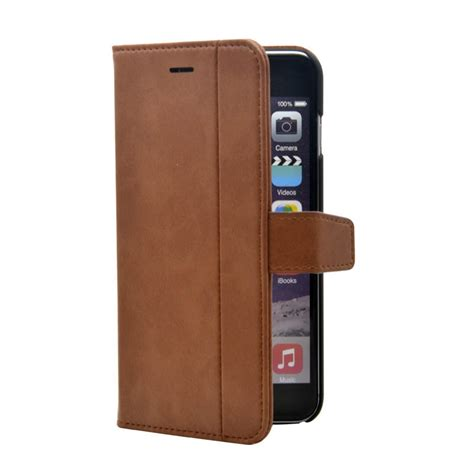 Diskon Leather For Iphone 7 7plus Brown premium pu leather wallet flip cover for iphone 7 plus brown i fontaine