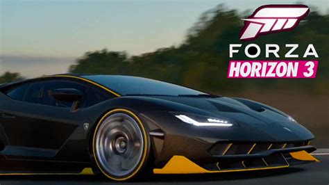 forza horizon 3 scheune e3 2016 forza horizon 3 trailer gamespot