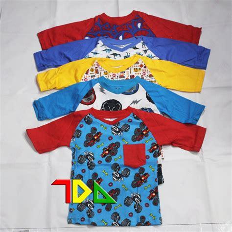 jual seller kaos anak balita cowok full color raglan printed tee lapak toko de araa todeara