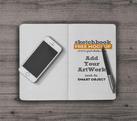 sketchbook tutorial download free sketchbook mockup free psd psddude