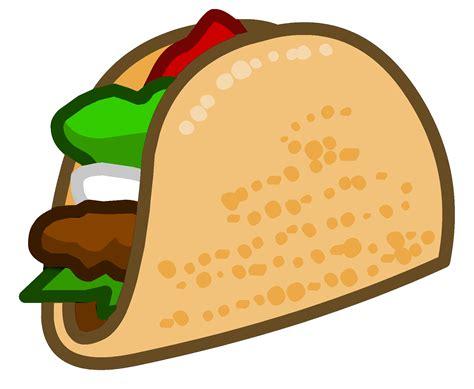 cartoon transparent free taco clipart pictures clipartix