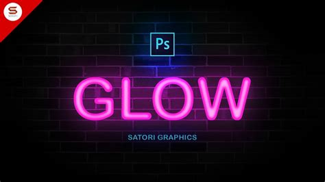 neon design maker how to make neon type in photoshop youtube