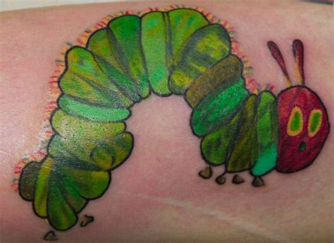 caterpillar tattoos the hungry caterpillar tattoos