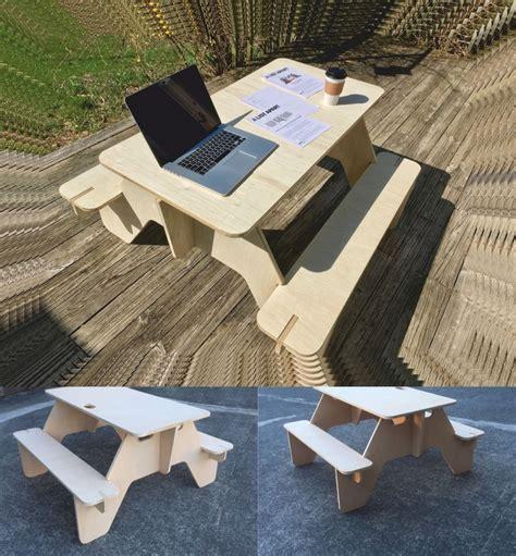 diy picnic table laser cutting cnc router plans