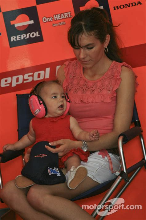 Casey Stoner family at Malaysian GP