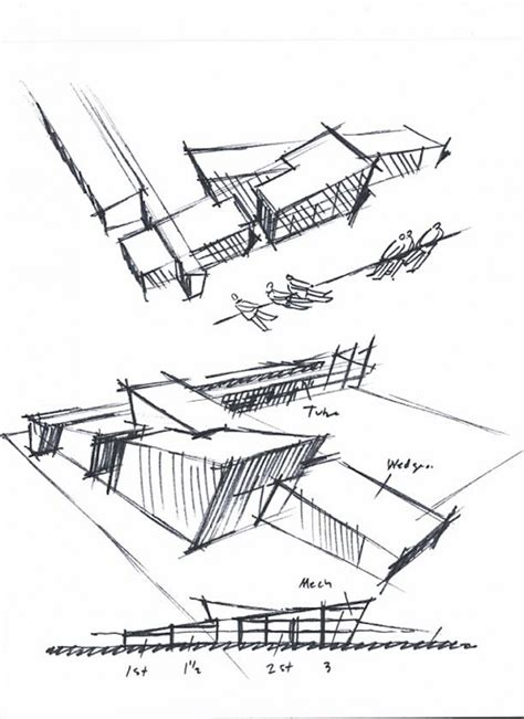 Passive Solar Home Design Concepts by Simple Concept Relating Into Massing Sketch And Detailing
