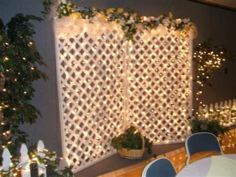 lattice wall rustic wedding decoration   Google Search