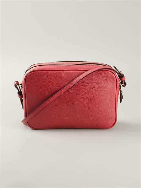 Giorgio Armani Bag Rc001 giorgio armani paneled leather cross bag in lyst