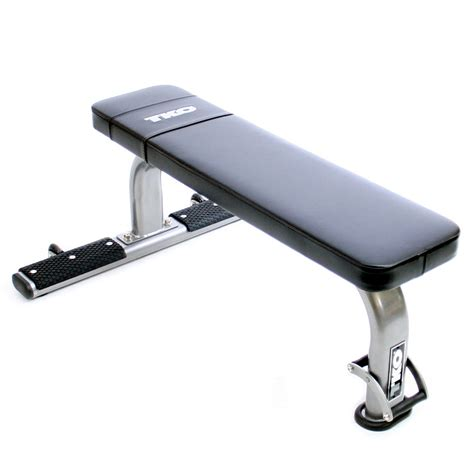 commercial workout bench tko flat exercise bench