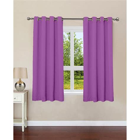 plain lilac curtains royal lilac plain cotton curtains with 8 eyelets buy