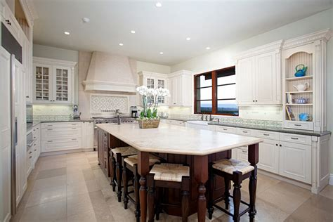 white marble kitchen island gorgeous contrasting kitchen island ideas pictures designing idea