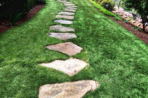Home Design Center Alpharetta by Stone Walkway Ideas Amp Stone Wall Hardscape Inspiration