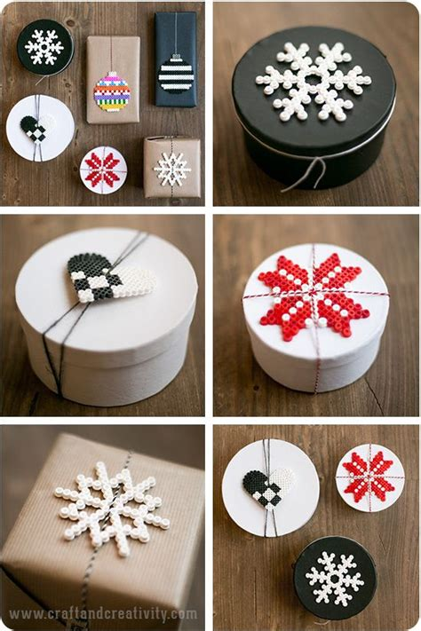 Geschenke Zu Weihnachten Basteln 204 by Inspiration Perler Bead Gift Tags