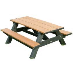 picnic table picnic tables made from recycled plastic