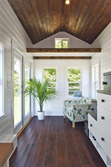 wood walls in house minimalist lizetteesco 133 sq ft amalfi tiny house has