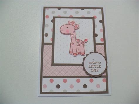 Handmade Baby Card Ideas - 25 best ideas about baby cards on baby