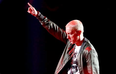 movie with eminem 2014 eminem and rihanna perform the monster on stage during the