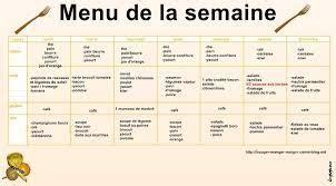 Menu Detox Pour Maigrir by R 233 Sultat De Recherche D Images Pour Quot Menu 233 Quilibr 233 Pour