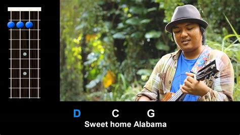 quot sweet home alabama quot lynyrd skynyrd ukulele play along