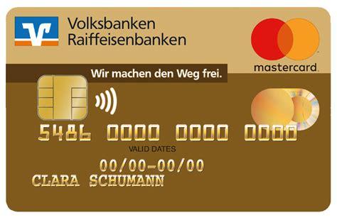 bank kredit karte goldcard volksbank raiffeisenbank dachau eg
