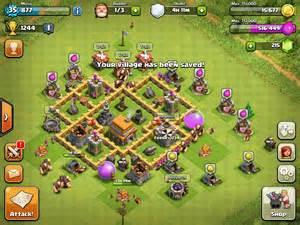 Coc th5 base war