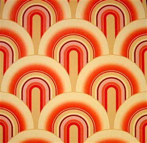 tapete 60er farbe ambiente wohnideen wandgestaltung