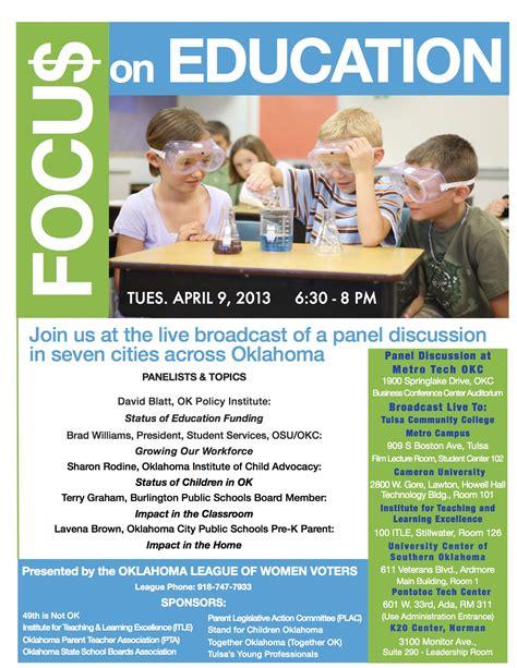 focu on education forum flyer final jpg stand for children