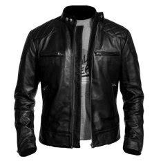jual jaket kulit pria murah terbaik lazada co id