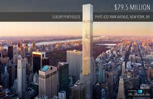 Dining Room Set For Sale by 79 5 Million Luxury Penthouse Ph92 432 Park Avenue New