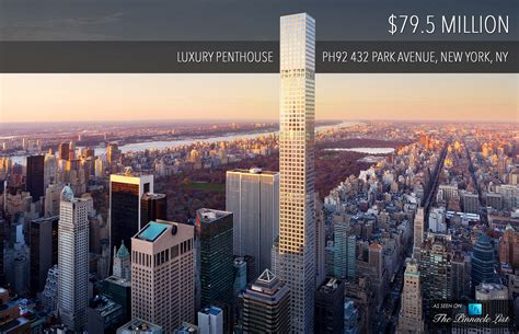 Row House Nyc - 79 5 million luxury penthouse ph92 432 park avenue new york ny usa the list