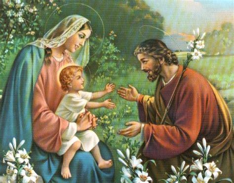 imagenes de la familia sagrada imagenes religiosas la sagrada familia san jose la virgen