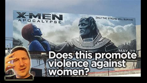 Xman Plakat by Does Poster Promote Violence Against