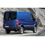 Official This Is The New 2012 Volkswagen Crafter 4Motion