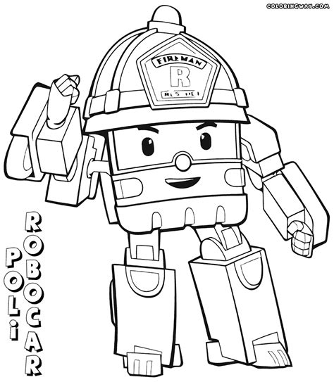 robocar poli coloring pages games gallery robocar coloring page coloring page for kids