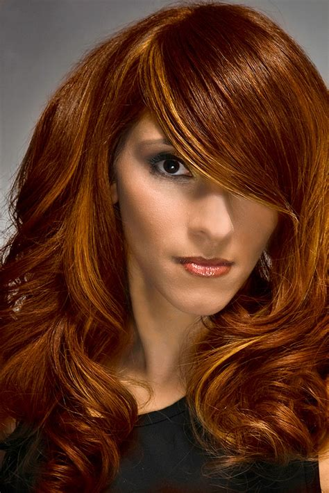 how to quot autumn spendor quot fall hair color idea modern salon
