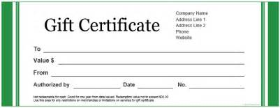 custom certificate templates free printable gift certificate template business plan