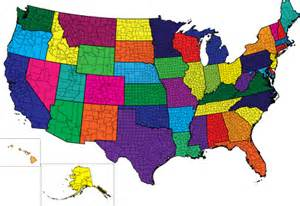 united states county map powerpoint us county map