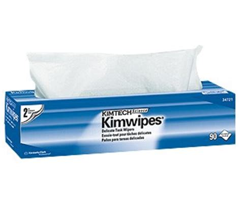 Kimwipes Kimtech Tissue Optik Lensa kcc34721 clark kimtech science kimwipes delicate task wipers 14x16