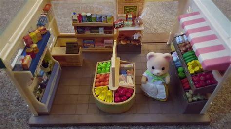 Sylvanian Families Original Supermaket sylvanian families supermarket drunken review 2017