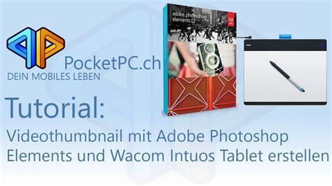 tutorial adobe photoshop elements 4 0 tutorial videothumbnail mit adobe photoshop elements und